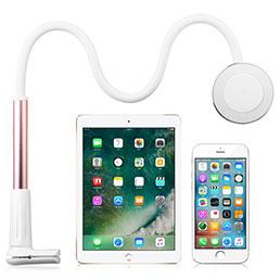 Support de Bureau Support Tablette Flexible Universel Pliable Rotatif 360 T32 pour Apple iPad 2 Or