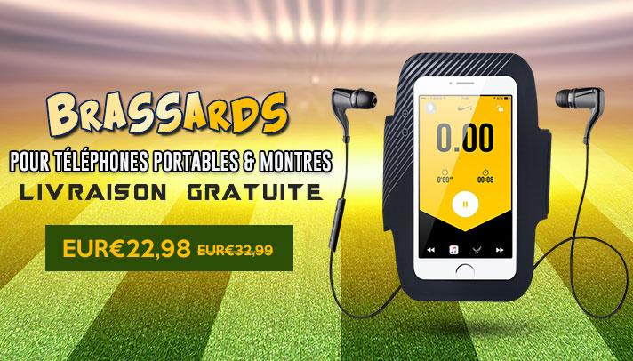 Brassard Sport Housse Universel B27 Noir