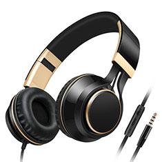 Casque Ecouteur Filaire Sport Stereo Intra-auriculaire Oreillette H65 Noir