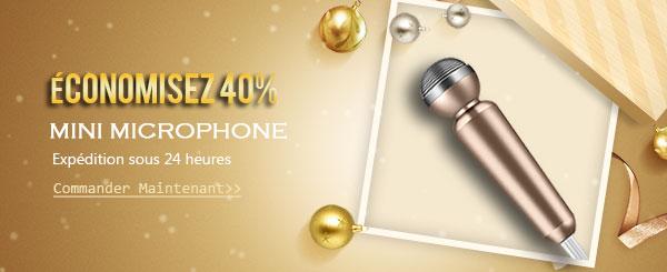 Mini Microphone pour Téléphone
