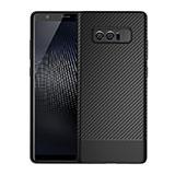 Coque Silicone Gel Serge pour Samsung Galaxy Note 8 Noir