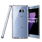 Coque Ultra Fine Silicone Souple Transparente pour Samsung Galaxy Note 7 Clair