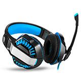 Casque Filaire Sport Stereo Ecouteur Intra-auriculaire Oreillette H67 Bleu