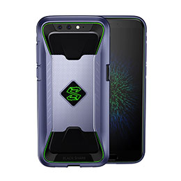 Housse Ultra Fine TPU Souple 360 Degres pour Xiaomi Black Shark Bleu