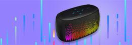 Mini Haut Parleur Enceinte Portable Sans Fil Bluetooth Haut-Parleur S06 Noir