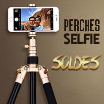 Perche de Selfie Sans Fil Bluetooth Baton de Selfie Extensible de Poche