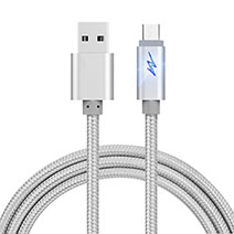 Cable USB 2.0 Android Universel A10 Argent
