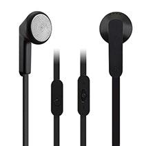Ecouteur Casque Filaire Sport Stereo Intra-auriculaire Oreillette H08 Noir
