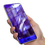 Film Protecteur d'Ecran Verre Trempe Anti-Lumiere Bleue B04 pour Xiaomi Mi 6 Bleu