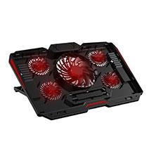 Support Ordinateur Portable Ventilateur de Refroidissement Radiateur Universel 9 Pouces a 17 Pouces L02 pour Apple MacBook Air 13 pouces Noir