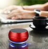 Mini Haut Parleur Enceinte Portable Sans Fil Bluetooth Haut-Parleur Rouge