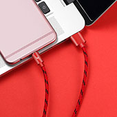 Cable USB 2.0 Android Universel A03 Rouge