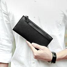 Coque Pochette Cuir Universel H30 Noir