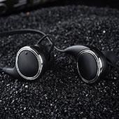 Ecouteur Casque Sport Bluetooth Stereo Intra-auriculaire Sans fil Oreillette H42 Noir