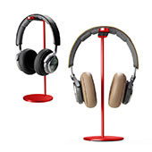Universal Ständer Ohrhörer Headset Kopfhörer Stand H01 Rot