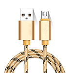 Cable Micro USB Android Universel M01 Or