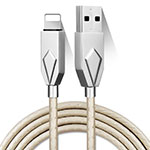 Chargeur Cable Data Synchro Cable D13 pour Apple iPhone 11 Pro Argent