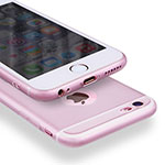 Coque Luxe Aluminum Metal pour Apple iPhone 6S Rose