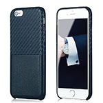 Coque Silicone Gel Serge B05 pour Apple iPhone 6 Bleu