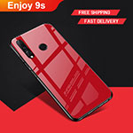 Coque Silicone Souple Miroir pour Huawei Honor 20 Lite Rouge
