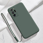 Coque Ultra Fine Silicone Souple 360 Degres Housse Etui N03 pour Samsung Galaxy Note 20 Ultra 5G Vert Nuit