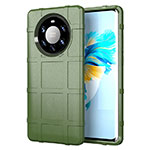 Coque Ultra Fine Silicone Souple 360 Degres Housse Etui pour Huawei Mate 40 Pro+ Plus Vert Armee