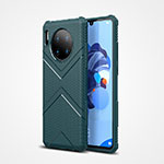 Coque Ultra Fine Silicone Souple 360 Degres Housse Etui S02 pour Huawei Mate 30 5G Vert