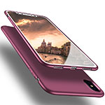 Coque Ultra Fine Silicone Souple S16 pour Apple iPhone Xs Max Violet