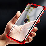Coque Ultra Fine TPU Souple Transparente T09 pour Xiaomi Black Shark Rouge