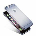 Coque Ultra Fine Transparente Souple Degrade G01 pour Apple iPhone 6 Bleu