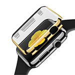 Etui Bumper Luxe Aluminum Metal C02 pour Apple iWatch 2 42mm Or