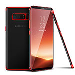 Etui Ultra Fine TPU Souple Transparente T06 pour Samsung Galaxy Note 8 Rouge