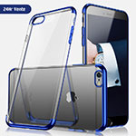 Housse Ultra Fine TPU Souple Transparente H05 pour Apple iPhone 6 Bleu