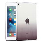Housse Ultra Fine Transparente Souple Degrade pour Apple iPad Mini 4 Gris