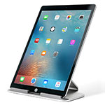 Support de Bureau Support Tablette Universel T25 pour Apple iPad Pro 12.9 (2020) Argent