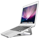 Support Ordinateur Portable Universel S05 pour Apple MacBook Air 13 pouces Argent