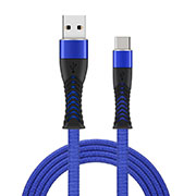 Cable Type-C Android Universel T26 Bleu