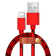 Chargeur Cable Data Synchro Cable L05 pour Apple iPhone 6S Rouge