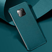 Coque Luxe Cuir Housse Etui R04 pour Huawei Mate 20 Pro Vert