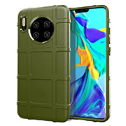 Coque Ultra Fine Silicone Souple 360 Degres Housse Etui C05 pour Huawei Mate 30 Vert