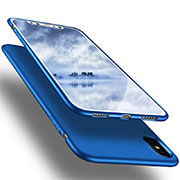 Coque Ultra Fine Silicone Souple S16 pour Apple iPhone Xs Max Bleu