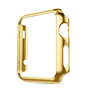 Housse Contour Luxe Aluminum Metal pour Apple iWatch 38mm Or
