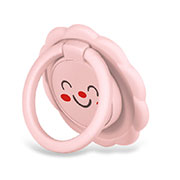 Support Bague Anneau Support Telephone Magnetique Universel H17 Rose