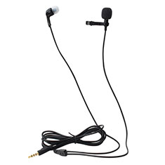 3.5mm Mini Microphone de Poche Elegant Karaoke Haut-Parleur K05 pour Apple MacBook Air 13.3 2018 Noir