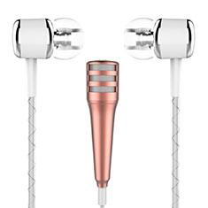 3.5mm Mini Microphone de Poche Elegant Karaoke Haut-Parleur M01 pour Nokia 3.1 Plus Or