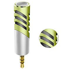 3.5mm Mini Microphone de Poche Elegant Karaoke Haut-Parleur M09 Vert