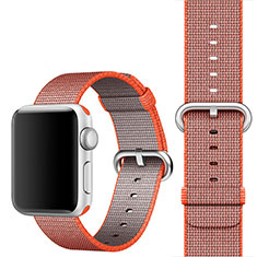 Bracelet Milanais Band pour Apple iWatch 3 42mm Orange