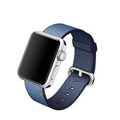 Bracelet Milanais pour Apple iWatch 3 38mm Bleu
