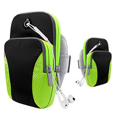 Brassard Sport Coque Losange Universel B21 pour HTC Butterfly 2 Noir