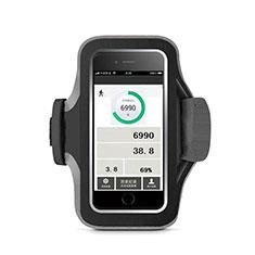 Brassard Sport Housse Universel B06 pour Huawei Enjoy 9 Plus Noir